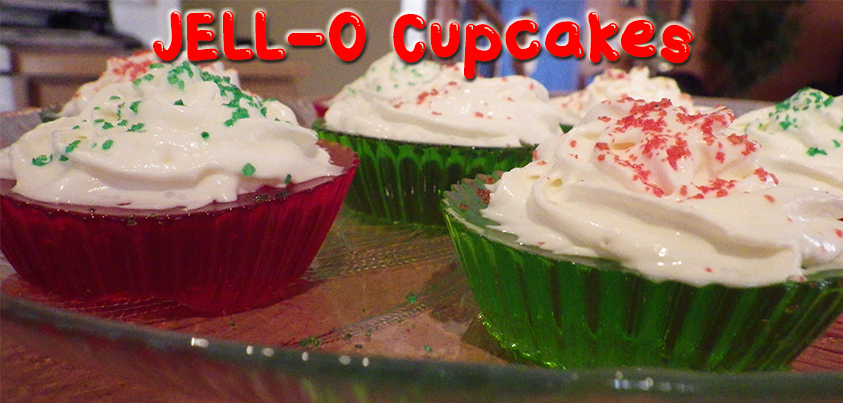 Jell-O Cupcakes